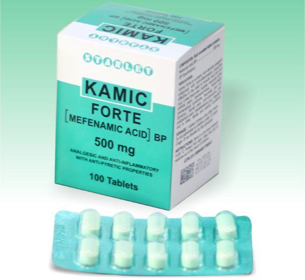 Kamic Forte 500mg 100 Tablets