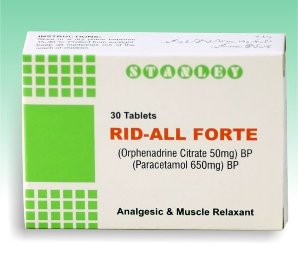 Rid-All Forte 30Tablets