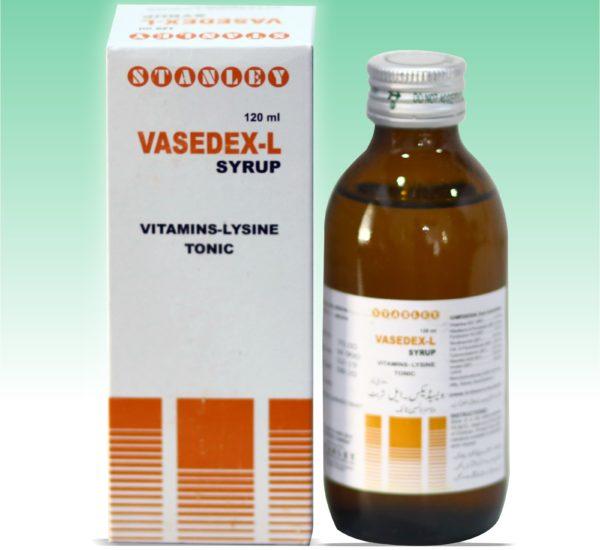 Vasedex-L 120ml Syrup